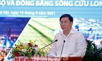 Lösung zur sozialwirtschaftlichen Entwicklung und öffentlichen Investition im Mekong-Delta