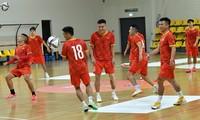Vietnamesische Futsalmannschaft will Sieg gegen Panama