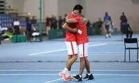 Vietnamesische Tennisauswahl hat ersten Sieg bei Davis Cup errungen