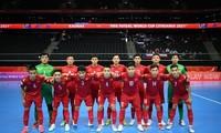 Vietnamesische Futsalmannschaft steht im Achtelfinal der Weltmeisterschaft 2021 in Litauen