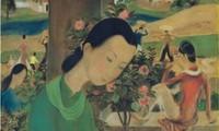 Historische Meilensteine der Auktion von Bildern der vietnamesischen Maler