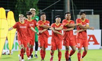 Qualifikationsrunde der Asienmeisterschaft U23: Vietnamesische Fußballmannschaft spielt in Nahen Osten