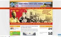 Bibliothek aus Bac Ninh eröffnet Website mit Multisprachen für Kinderleser