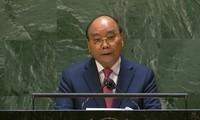 Staatspräsident Nguyen Xuan Phuc hält Rede bei UN-Vollversammlung in New York