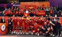 AFC: Vietnamesische Futsalmannschaft verliert knapp gegen russische Mannschaft