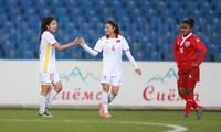 Die vietnamesische Fußballmannschaft der Frauen siegt sensationell gegen die Mannschaft aus Malediven