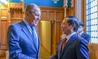 Effiziente Förderung der strategischen und umfassenden Partnerschaft zwischen Vietnam und Russland