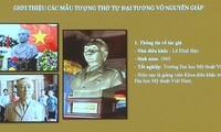 Dien Bien: Statue von General Giap in Muong Phang