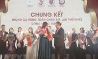 """Wettbewerb """"Goldener Gesang"""" der Vietnamesen in Europa"""