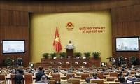 Parlamentsitzung: Diskussion über juristische Aktivitäten und Korrupionsbekämpfung