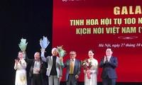 """Gala """"Kristalisation von 100 Jahren der Bühnenkunst von Hörspielen in Vietnam"""""""