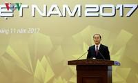 ທ່ານປະທານປະເທດ ເຈີ່ນດ້າຍກວາງ ເຂົ້າຮ່ວມພິທີສະຫລຸບປີ APEC 2017