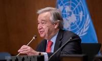 ທ່ານເລຂາທິການໃຫຍ່ສະຫະປະຊາຂາດ Antonio Guterres ຮັບດຳລົງຕຳແໜ່ງອາຍຸການທີ 2