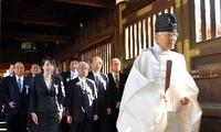 China blasts Japanese legislators' visits to Yasukuni Shrine