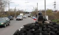 Ukraine's military forces retake a strategic town in eastern region