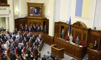 Ukraine's parliament passes bill granting eastern regions more autonomy
