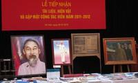 Aprender del ejemplo de Ho Chi Minh a través de documentos y objetos