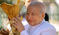 Dirigentes vietnamitas envían condolencias por deceso de ex rey de Camboya