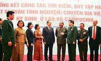 Evalúan búsqueda y repatriación de mártires vietnamitas en Laos y Camboya