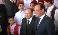 Presidente francés inicia histórica visita a Argelia