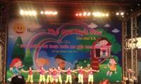 """Inauguran el Festival """"Mundo Infantil"""" en ocasión del Día Internacional de la Infancia en Vietnam"""