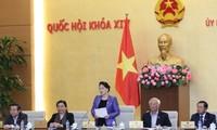 Inauguran la XV reunión del Comité Permanente del Parlamento de Vietnam