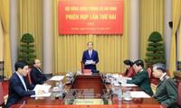 El presidente vietnamita orienta las nuevas metas de defensa y seguridad nacional para 2018