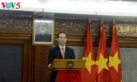 Presidente vietnamita se reúne con primera ministra de Bangladesh