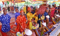 Celebran un ritual dedicado a la flota protectora de Hoang Sa
