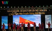 Inauguran Semana de Cultura y Turismo de Ly Son 2018