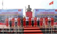 Inauguran Parque Fidel en la provincia central vietnamita de Quang Tri