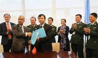 Vietnam y la ONU estrechan cooperación en las misiones de paz