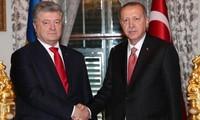 Turquía y Ucrania acuerdan promover asociación estratégica