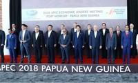 Dirigentes del APEC buscan promover libre comercio e integración regional