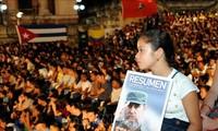 Conmemoran en Cuba aniversario luctuoso de Fidel Castro