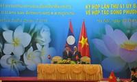 Vietnam y Laos firman 6 nuevos documentos de cooperación para 2019