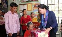 Jefa parlamentaria realiza visita de trabajo en Binh Thuan