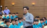 Vicepremier vietnamita exhorta a desarrollar el fútbol joven nacional