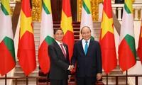 Premier vietnamita se reúne con presidente birmano