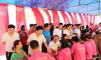"Efectúan programa ""Recorrido Rojo"" en distintas localidades vietnamitas"