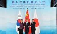 Comienza Conferencia de Cancilleres de Japón, China y Corea del Sur