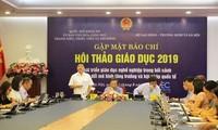 Celebrarán en Hanói un seminario sobre formación profesional