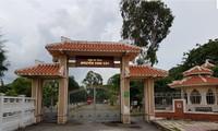 Visitan la zona de reliquias en homenaje al padre del presidente Ho Chi Minh