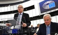 Parlamento Europeo apoya postura de Unión Europea  ante el Brexit