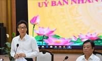 Vicepremier vietnamita realiza visita de trabajo a Dong Thap