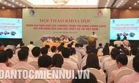 Celebran conferencia sobre programas crediticios favorables a minorías étnicas vietnamitas