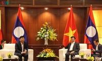 Premier laosiano visita ciudad vietnamita de Da Nang