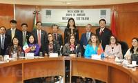 Fundan en México Grupo Parlamentario de Amistad con Vietnam