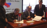 Cuba y Rusia firman memorando sobre cooperación en seguridad