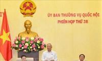 Concluye 38 reunión del Comité Permanente del Parlamento de Vietnam